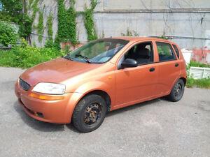 2005 Suzuki Swift Vendu aux enchère en ligne sans réserve!