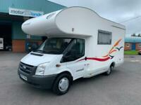 2008 EURAMOBIL PA580LS FORD TRANSIT 2.2 TDCI Coach Built Diesel Manual