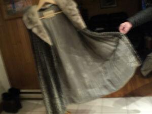 manteau de mouton de perse modifié