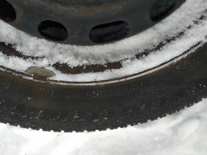 Selling full set of snow tires on Rims