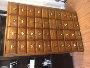 Antique Filing Cabinet