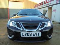 2008 08 SAAB 9-3 2.0 AERO T 4D AUTO 210 BHP
