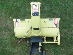 John Deere Snow Thrower / Blower Attachment Stratford Kitchener Area image 3
