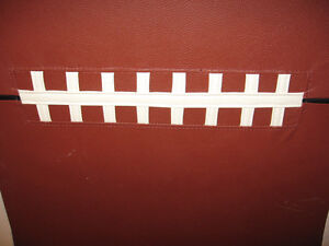 NFL FOOTBALL HEAD BOARD FOR SINGLE BED Cambridge Kitchener Area image 2