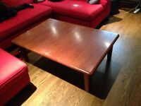 Dining table and chairs or coffee table