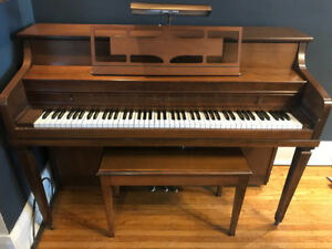 Upright Mason & Risch Piano - Give your home the joy of music.