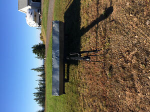 Forsale double wide snowmobile trailer
