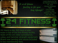 24 Fitness NEW DIRECT DEPOSIT ONLY $40 A MONTH!!!