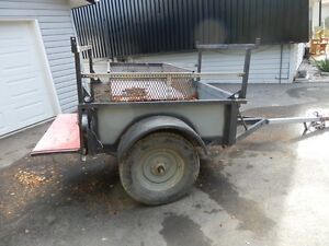 4 x 5 heavy duty utility trailer