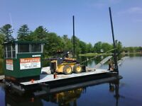 Barge perfect for small commercial or private use