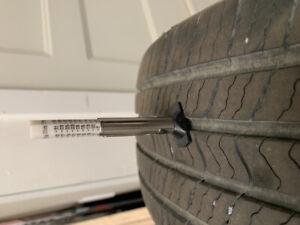 4 pneus d'ete 195/65 r15 a vendre. 150$ pour les 4