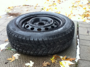 RIM with SNOW TIRE CIVIC 14""