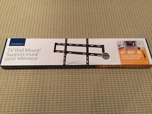 Insignia TV Wall Mount - 47-80 Inch Fixed Position - New In Box!