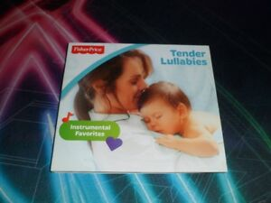 Fisher Price Tender Lullabies music c/d