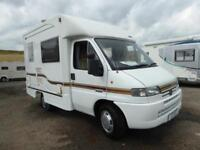 Autocruise Valentine 2 berth coachbuilt motorhome for sale Ref 16057 SALE AGREED