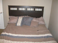Headboard for Queen Bed and matching Mirror
