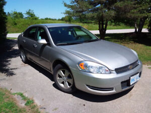 2007 Chevy Impala good condition.  As is. $3500.00 obo