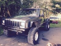 1998 jeep Cherokee for parts or needs to be certified