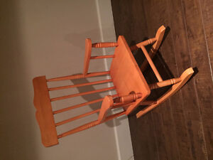 Lovely solid wood rocking chair