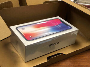 LAST ONE! Brand NEW Factory Unlocked Apple iPhone X 256 GB: Grey