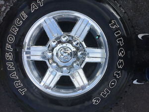 Dodge Ram 2500 factory tires and rims