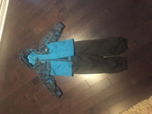 Fall coat and lined splash pants size 2/3T