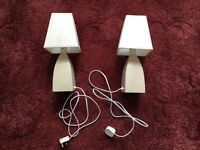 2 matching touch lamps