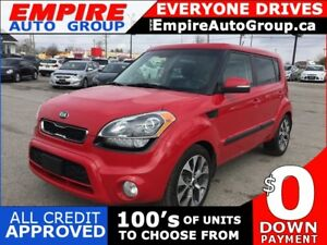 2013 KIA SOUL LEATHER * 1 OWNER * NAV * REAR CAM * SUNROOF * HEA