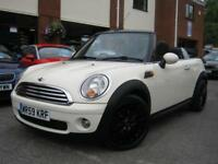 2009 59-Reg Mini Cooper Convertible,PEPPER WHITE,NEW MODEL,GREAT VALUE!!!