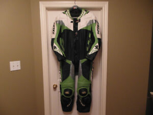 Spyke full leather racing suit