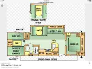 Jayco Jay Feather 31 BHS ~~SOLD~~