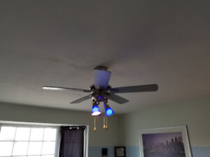 Ventilateur de plafond luminaire / Ceiling fan light Nadair C42