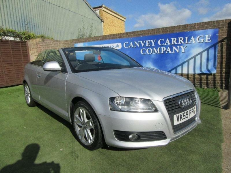 2009 audi a3 cabriolet 2 0 tfsi sport 2dr in canvey island essex gumtree. Black Bedroom Furniture Sets. Home Design Ideas