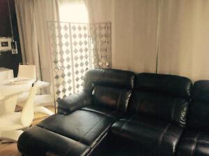 Sofa sectionnel Marco 6 pièces en cuir véritable