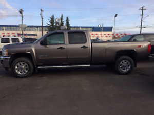 2014 CHEV  crew  lwb    4X4 DIESEL.>..WE FINANCE BAD CREDIT <