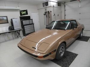 RX-7 restored (stored indoors)