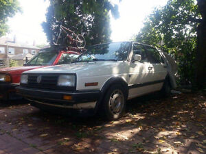 1989 Volkswagen Jetta Flair 2 Project Car/Complete