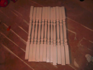 Used wooden spindles for sale