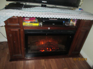 Atwood Electric Fireplace and Media Console