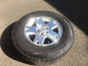 4 Kumho Road Venture tire plus spare on Ford rims