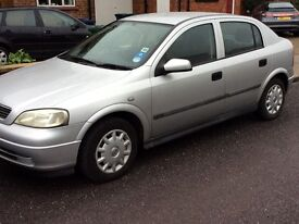 Vauxhall Astra 2002 model 5 door automatic 80,000 miles drives perfect !!!