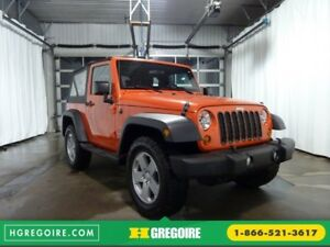 2013 Jeep Wrangler SPORT 4WD MAGS A/C CRUISE HITCH