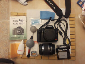 Canon EOS Rebel XSi 450D w/ EFS 18-55mm Lens AND MUCH MORE STUFF