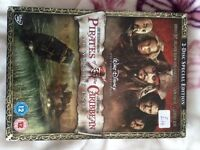 Pirates of the Caribbean dvd's