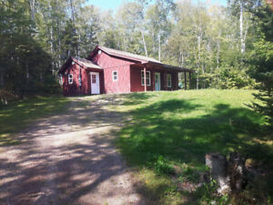 House rental on 2 acre private lot