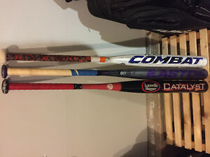 Selling 3 used Slopitch bats
