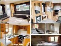 Used static caravan at reduced price in Norfolk by the beach