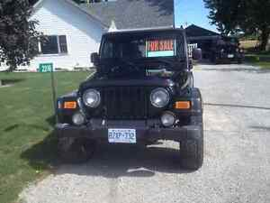 2004 Jeep TJ Rubicon SUV, Crossover