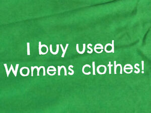 I'll pay you for bags of women's clothes 10$