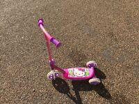 Hello Kitty Tri-Scooter